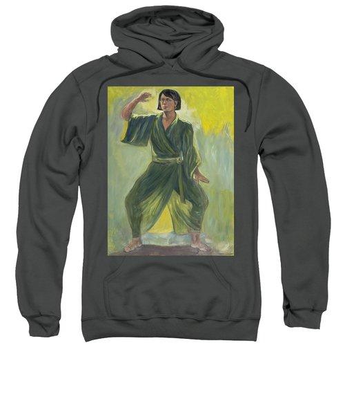 Mighty Woman Kick-butt Sweatshirt