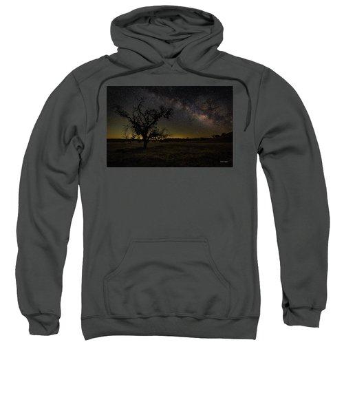 Miily Way In A Late Spring Sky Sweatshirt