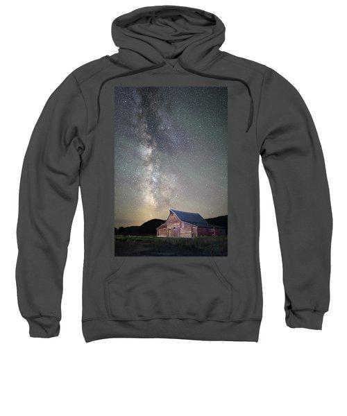Milky Way And Barn Sweatshirt
