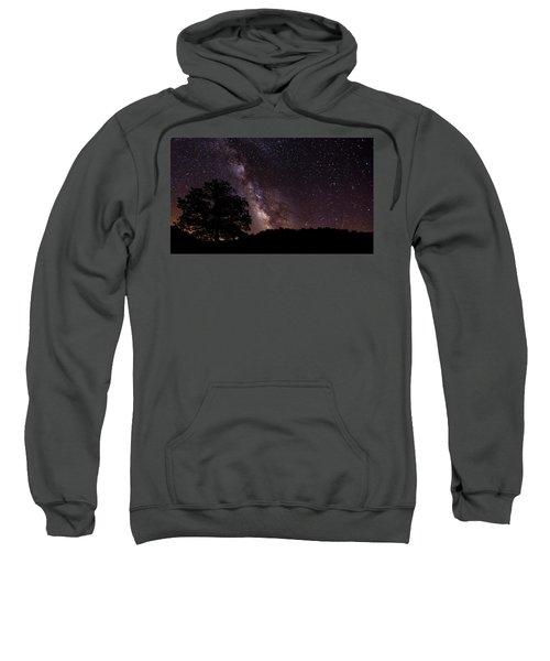 Milky Way And The Tree Sweatshirt