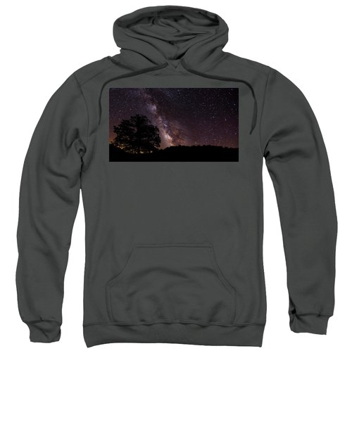 Milky Way And The Tree Sweatshirt