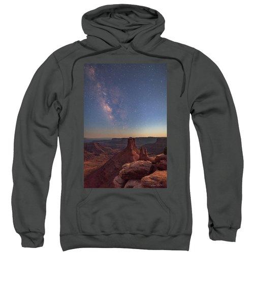 Milky Way At Twilight - Marlboro Point Sweatshirt