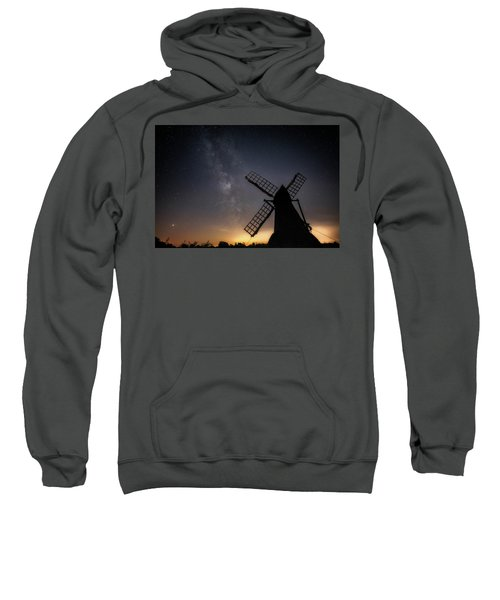 Milky Way At Wicken Sweatshirt