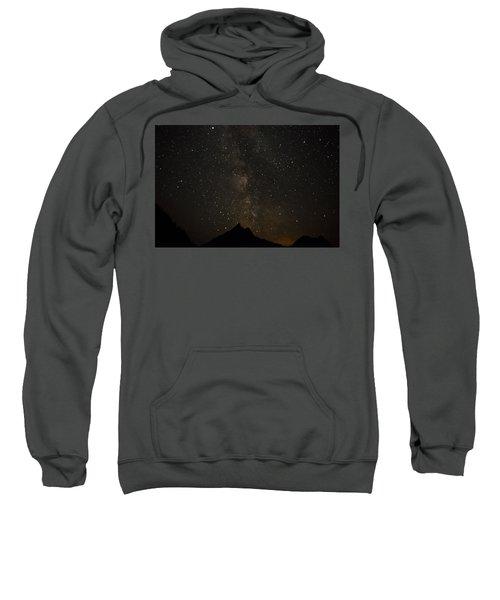 Milky Way, Glacier Nat'l Park Sweatshirt