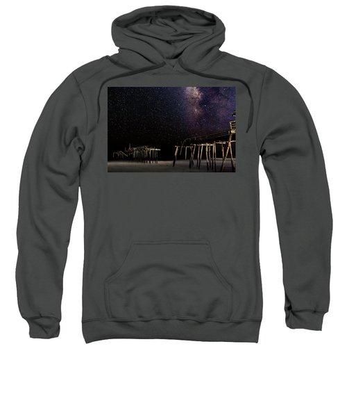 Milky Way Over Frisco Sweatshirt
