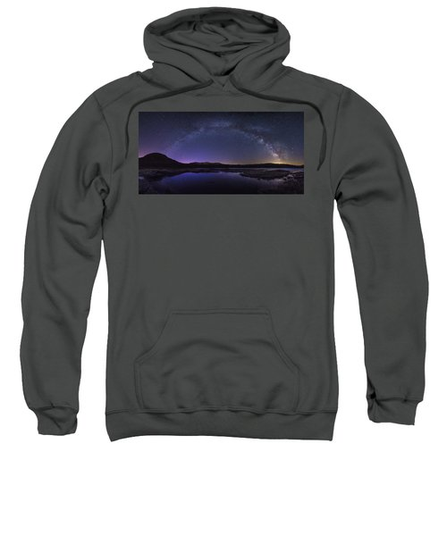 Milky Way Over Lonesome Lake Sweatshirt