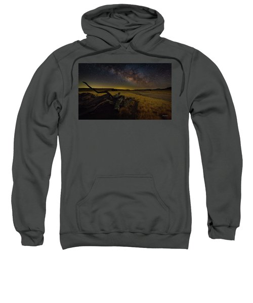 Milky Way Over The Canyon  Ranch Sweatshirt