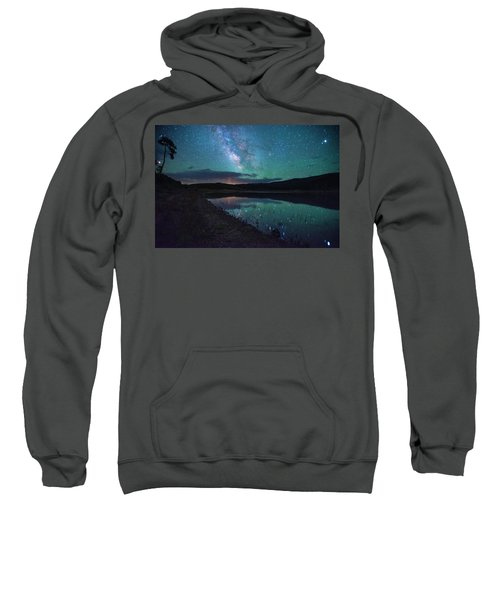 Milky Way Reflections Sweatshirt