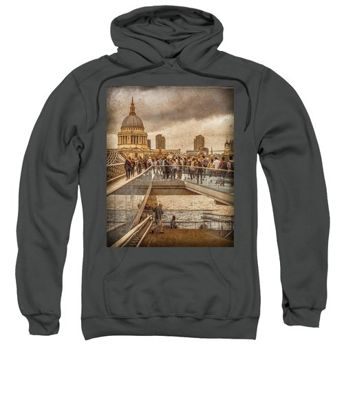 London, England - Millennium Bridge II Sweatshirt