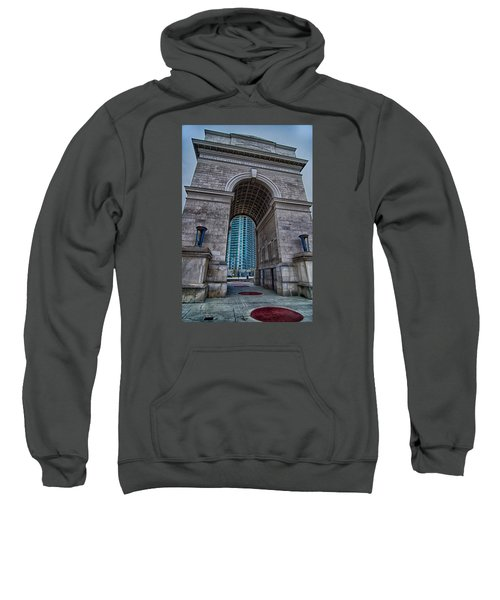 Millennium Gate Triumphal Arch At Atlantic Station In Midtown At Sweatshirt