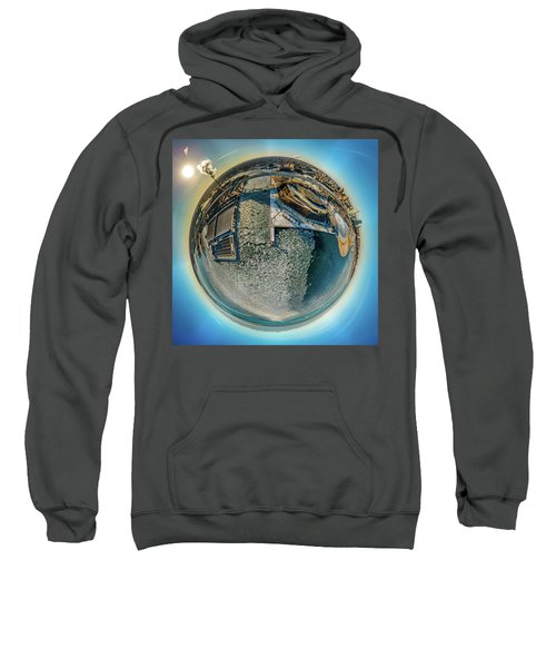 Milwaukee Pierhead Light Little Planet Sweatshirt
