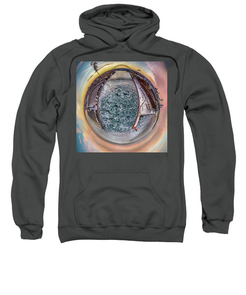 Milwaukee River Little Planet Sweatshirt