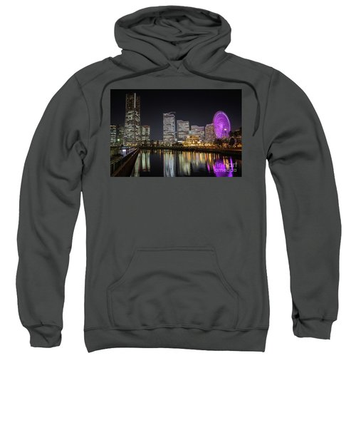 Minato Mirai At Night Sweatshirt