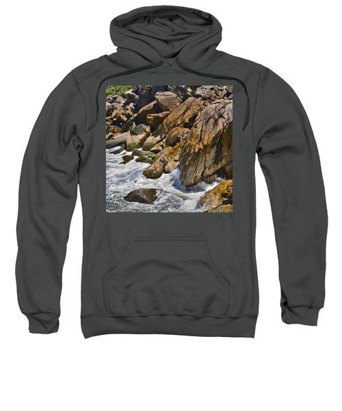 Brazilian Sea Cliffs - Guaruja - Sao Paulo Sweatshirt