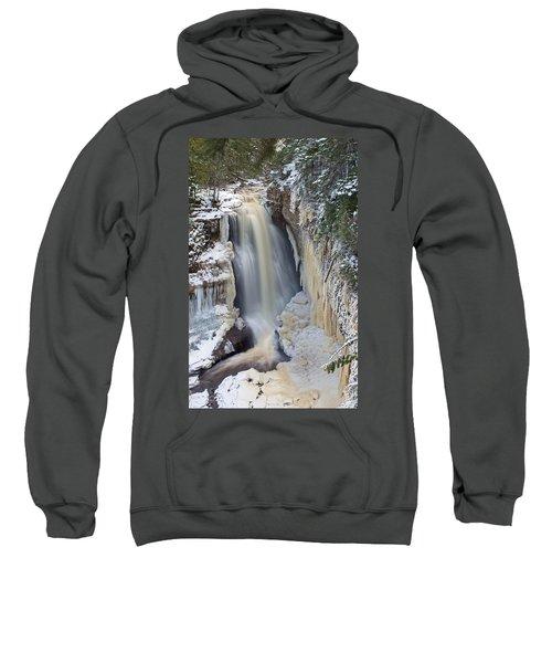 Miners Falls In The Snow Sweatshirt