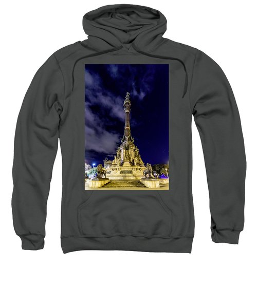 Mirador De Colom Sweatshirt by Randy Scherkenbach