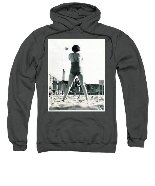 Miramar Pool, 1932 Sweatshirt by Cole Thompson