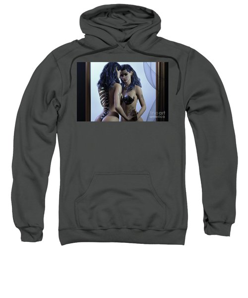 Mirror Cropped Sweatshirt