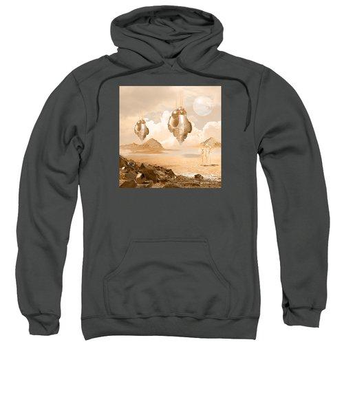 Mission In A Far Planet Sweatshirt