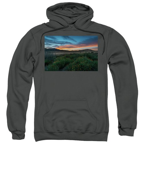 Mission Trails Poppy Sunset Sweatshirt