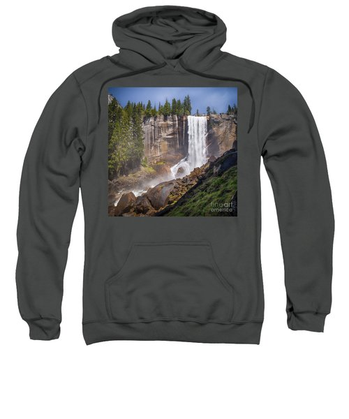 Mist Trail And Vernal Falls Sweatshirt