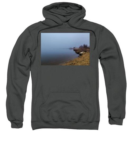 Misty Morning By The Lake Sweatshirt
