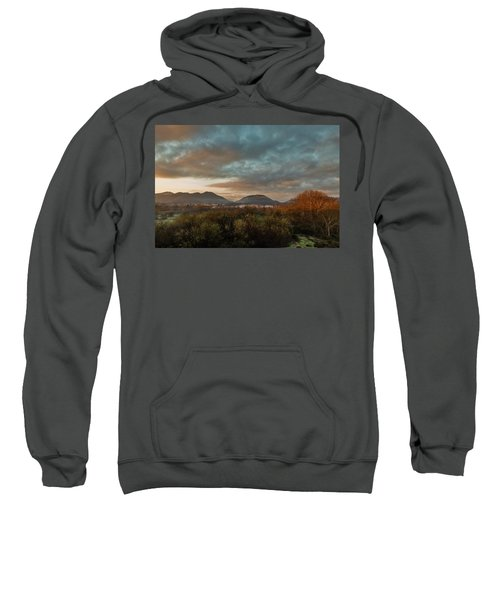 Misty Morning Over The San Diego River Sweatshirt