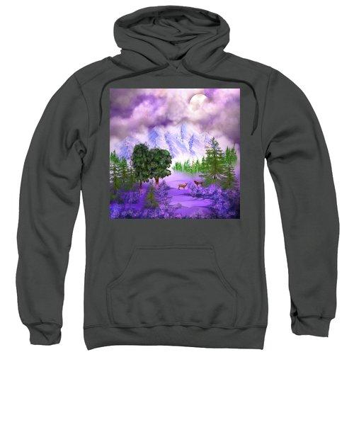 Misty Mountain Deer Sweatshirt