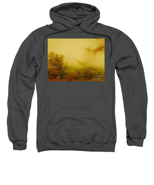 Misty Yellow Hue- El Valle De Anton Sweatshirt