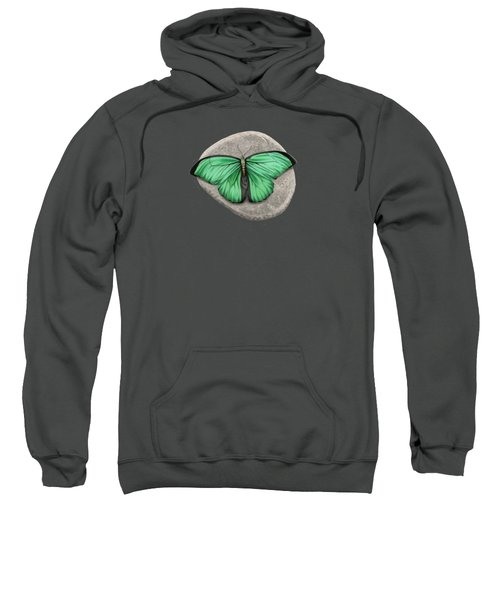 Mito Awareness Butterfly- A Symbol Of Hope Sweatshirt