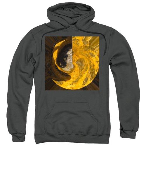 Molten Gold Planet Sweatshirt