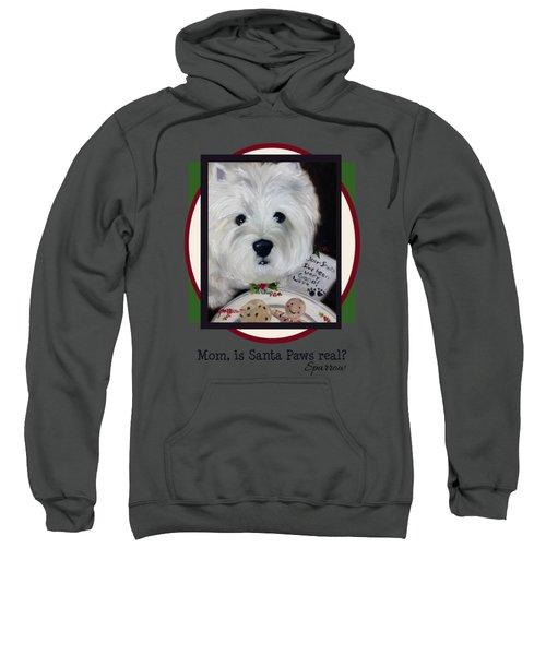 Mom Is Santa Paws Real Sweatshirt