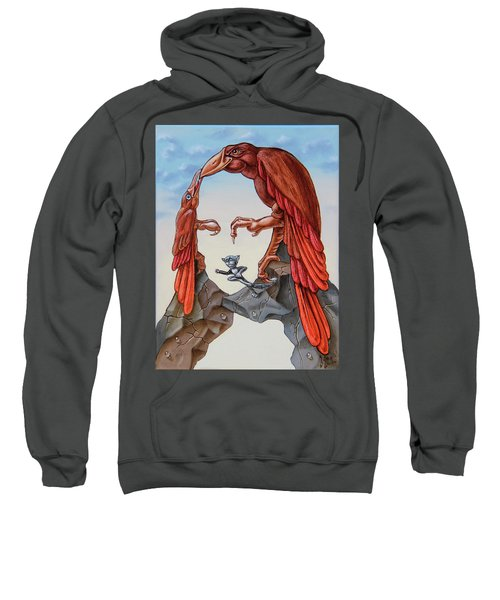 Mona Lisa. Air. Sweatshirt