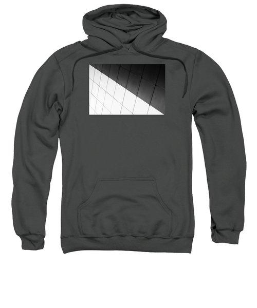 Monochrome Building Abstract 3 Sweatshirt