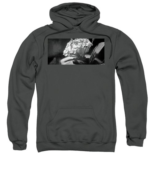 Monochrome Flora Sweatshirt