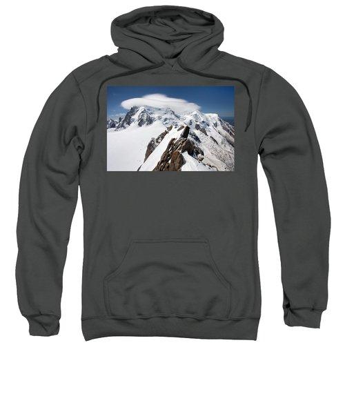 Mont Blanc And Ufo Sweatshirt