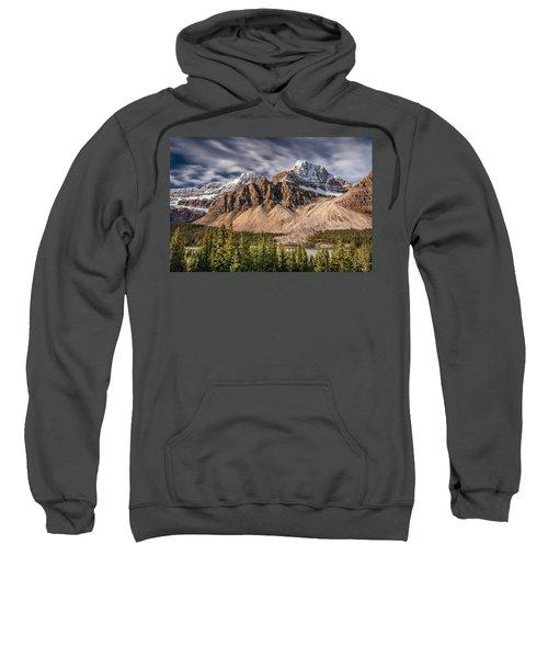 Mont Crowfoot On The Icefield Parkway Sweatshirt