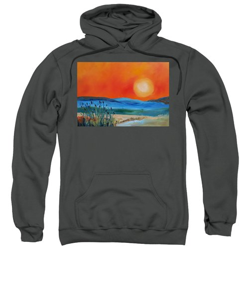 Montana Firery Sunset             49 Sweatshirt
