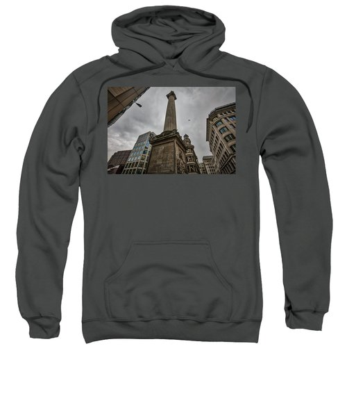Monument To The Great Fire Of London Sweatshirt