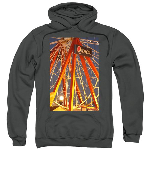 Moon And The Ferris Wheel Sweatshirt