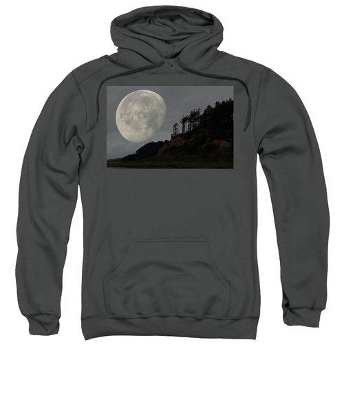 Moon At Roosevelt Beach Wa Sweatshirt