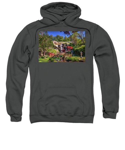 Moon Bridge And Maymont Falls Sweatshirt
