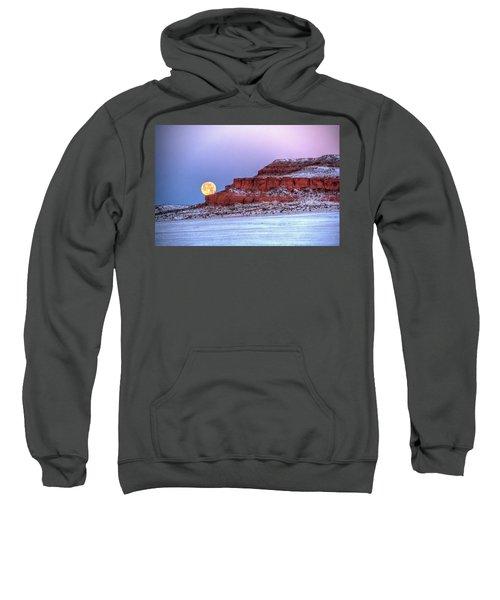 Moon Of The Popping Trees Sweatshirt