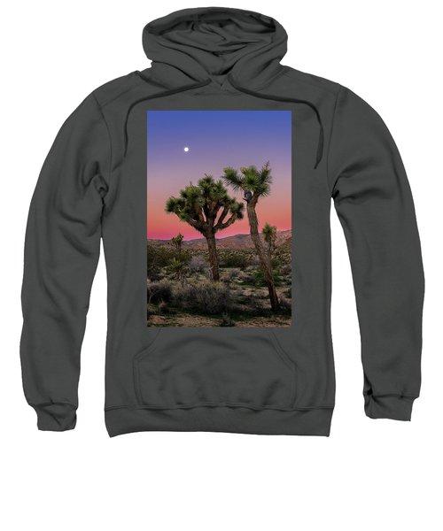 Moon Over Joshua Tree Sweatshirt