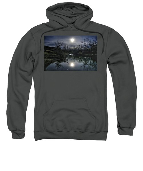 Moon Over Sand Creek Sweatshirt
