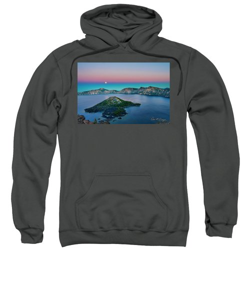 Moon Over Wizard Island Sweatshirt