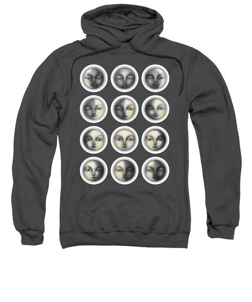 Moon Phases And Romanticism Sweatshirt