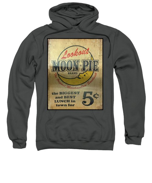 Moon Pie Antique Sign Sweatshirt