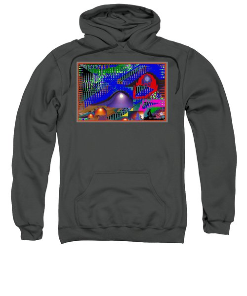 Moon Reflections On Mountains Abstract Graphic Paint Download For Personal N Commercial Projects Fun Sweatshirt
