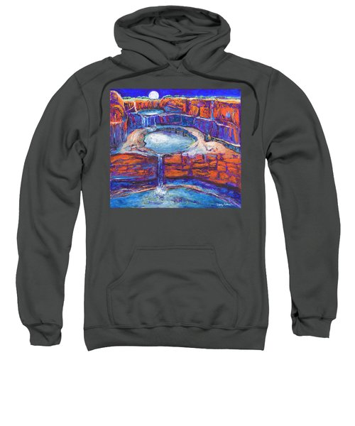 Moon Rising Over The Mitchell Falls Sweatshirt